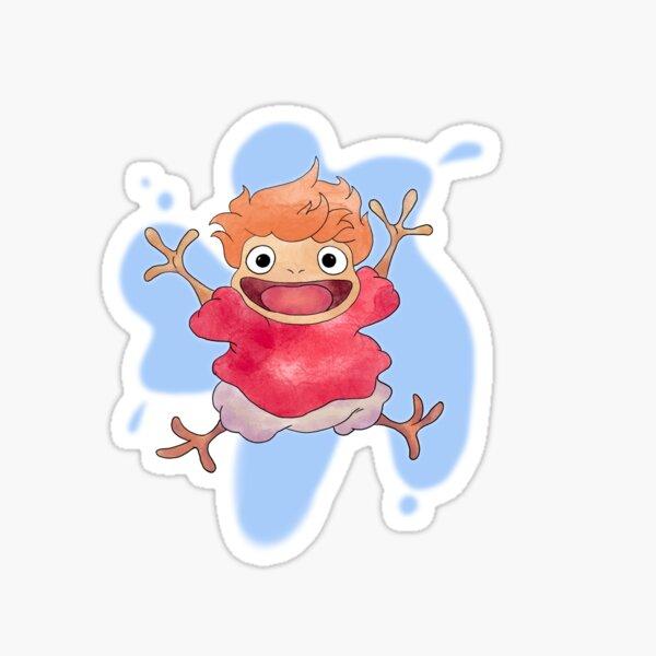 Ponyo magique Sticker