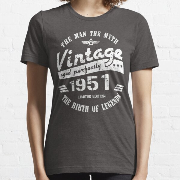 Vintage 1951 - 70th Birthday Gift For Men Essential T-Shirt