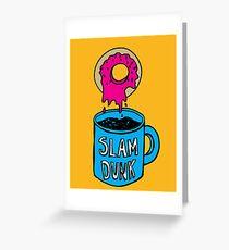 Slam Dunk! Greeting Card