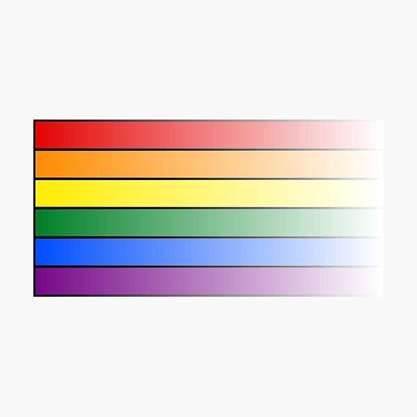 LGBT GAY PRIDE Flage Photographic Print