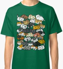 Neko Atsume Sleepy Kitties Classic T-Shirt