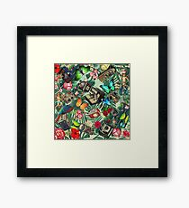 tropical vintage  Framed Print