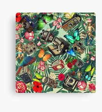 tropical vintage  Canvas Print