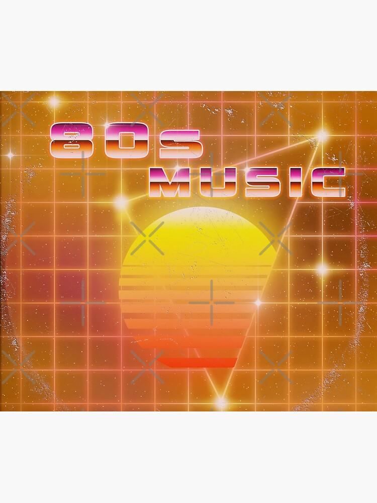 80s music vinyl disk album by GaiaDC