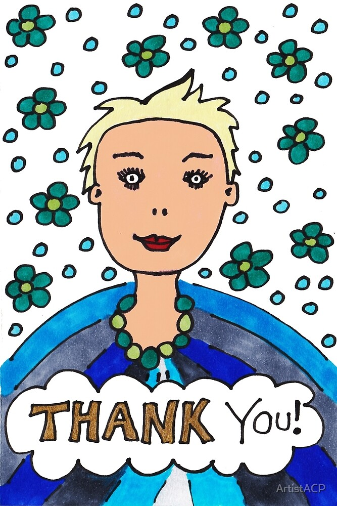 Miss Thank You Very Much by ArtistACP