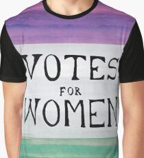 Votes for Women Graphic T-Shirt