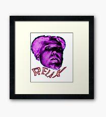 MUGATU SAY RELAX Framed Print