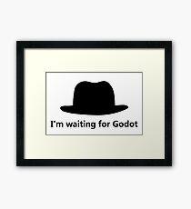 Waiting for Godot Framed Print
