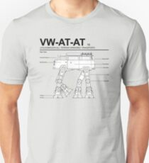 VW Westfalia AT-AT T2 Blueprint Unisex T-Shirt