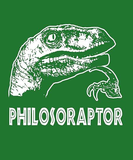 Philosoraptor T-Shirt von Dumb Shirts