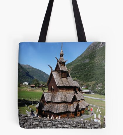 I have seen more than I remember, and remember more than I have seen. Borgund . Norway. Andrzej Goszcz. Tote Bag