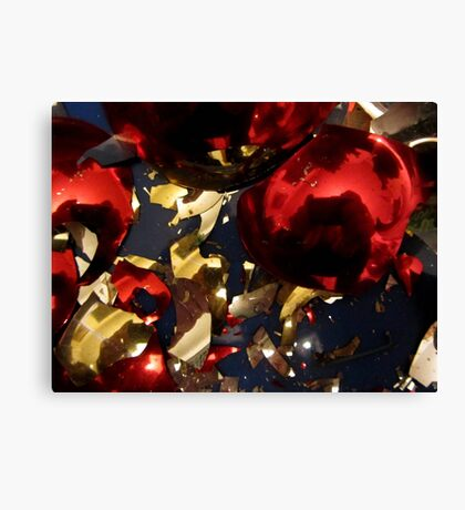 Sweep up the broken pieces Canvas Print