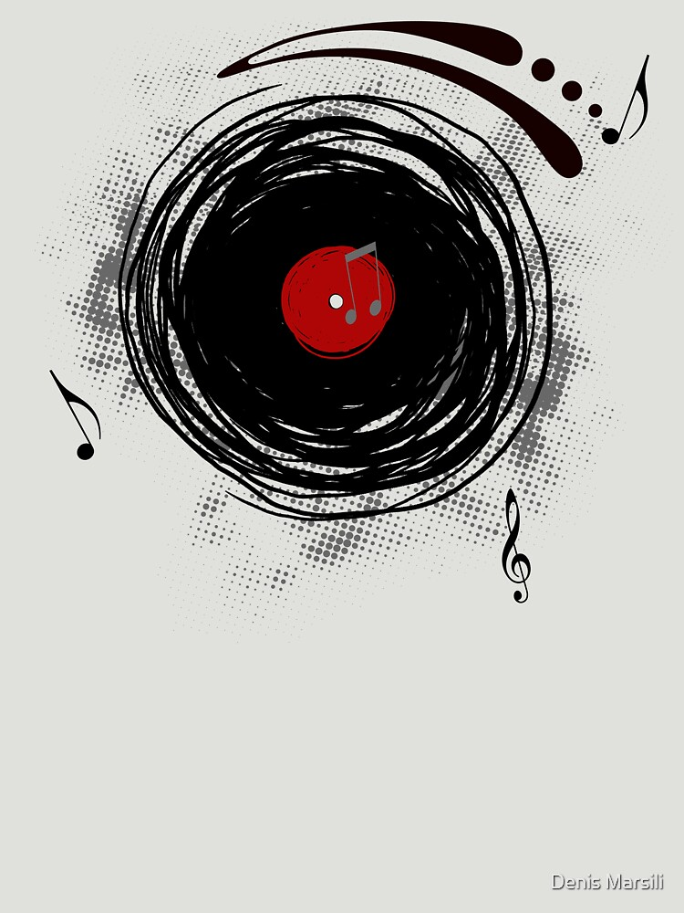 Vinyl Records Retro Grunge | Unisex T-Shirt