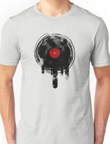 Melting Vinyl Records Vintage T-Shirt