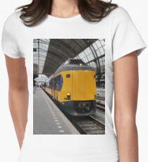 Dutch ICM Koploper intercity train Women's Fitted T-Shirt