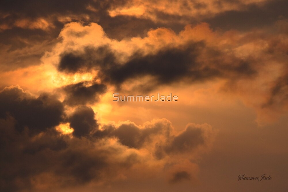 Ancient Dragon in the Sky ~ Clouds by SummerJade