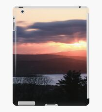 Sunset over North Donegal iPad Case/Skin