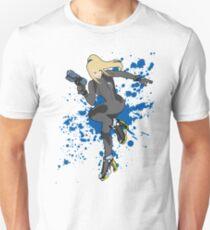 Zero Suit Samus (Black Alt.) - Super Smash Bros T-Shirt