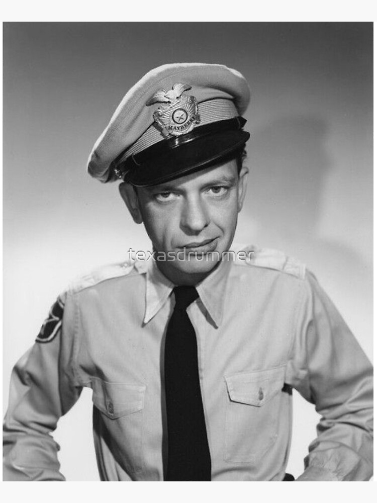 Barney Fife - Don Knotts by texasdrummer
