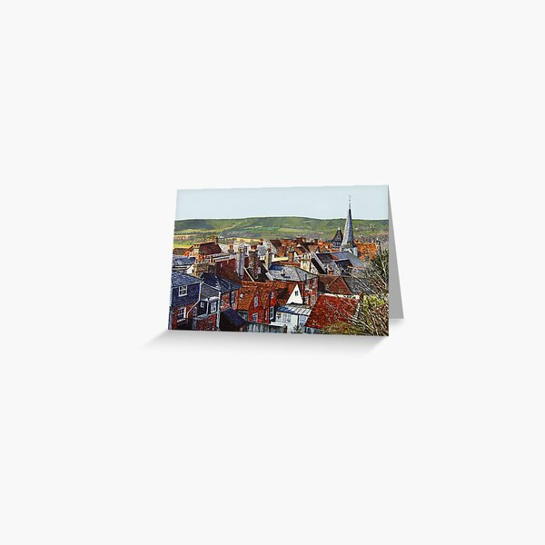 Lewes Rooftops Greeting Card