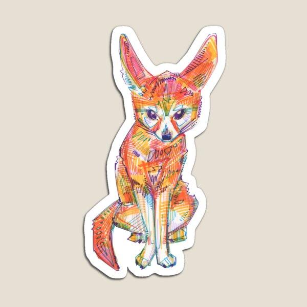 Fennec Fox Drawing - 2016 Magnet
