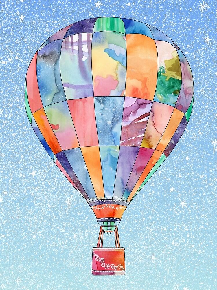 Hot Air Balloon by emmaallardsmith