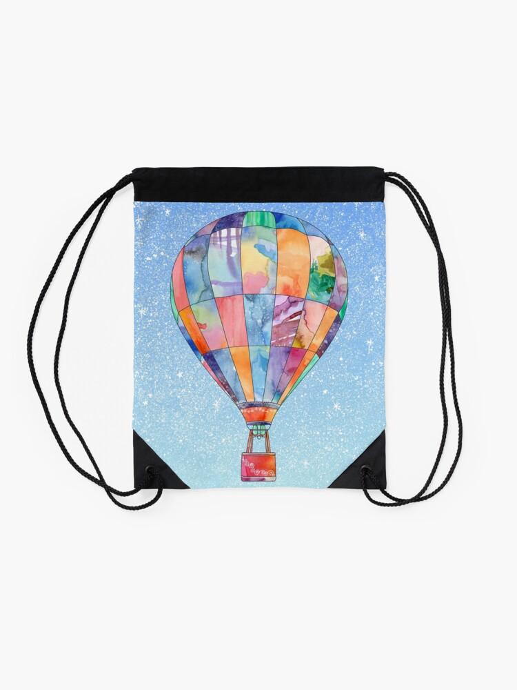 Alternate view of Hot Air Balloon Drawstring Bag