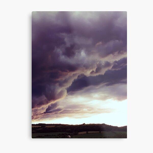 Large vertical storm beings Metal Print