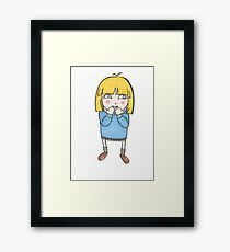 Silly Me Framed Print
