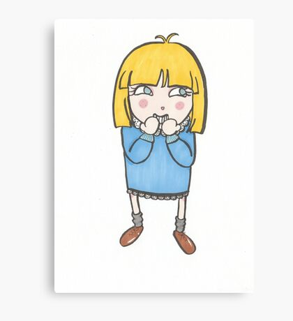 Silly Me Canvas Print