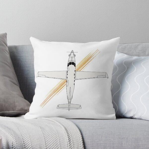 Pilatus PC-12 Overview Throw Pillow