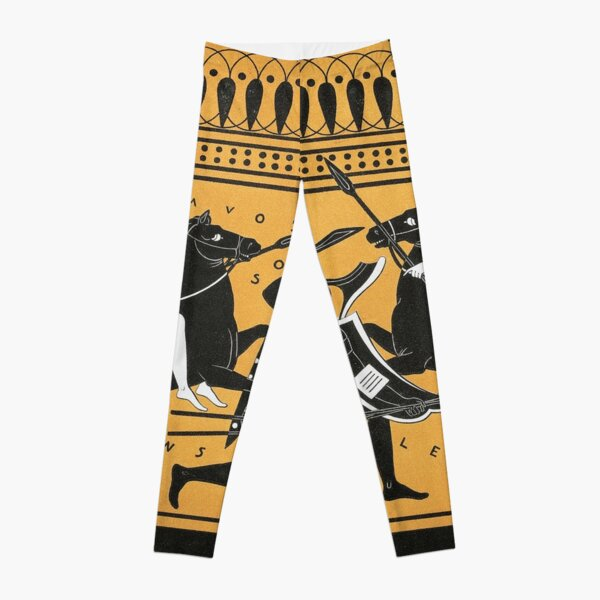 Did the Amazon female warriors from Greek mythology really exist? Leggings