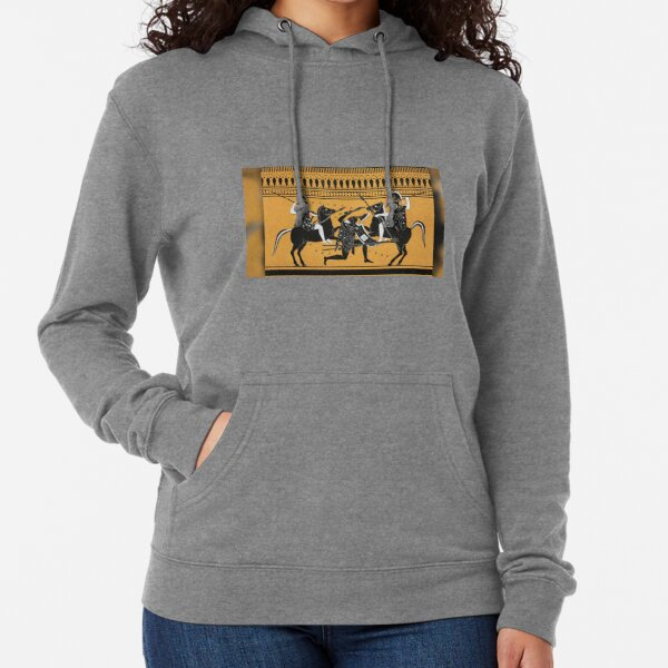 Did the Amazon female warriors from Greek mythology really exist? Lightweight Hoodie