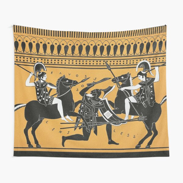 Did the Amazon female warriors from Greek mythology really exist? Tapestry