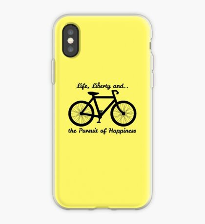 Life, Liberty and the Pursuit of Happiness iPhone Case