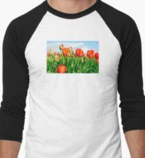 Color Burst Men's Baseball ¾ T-Shirt