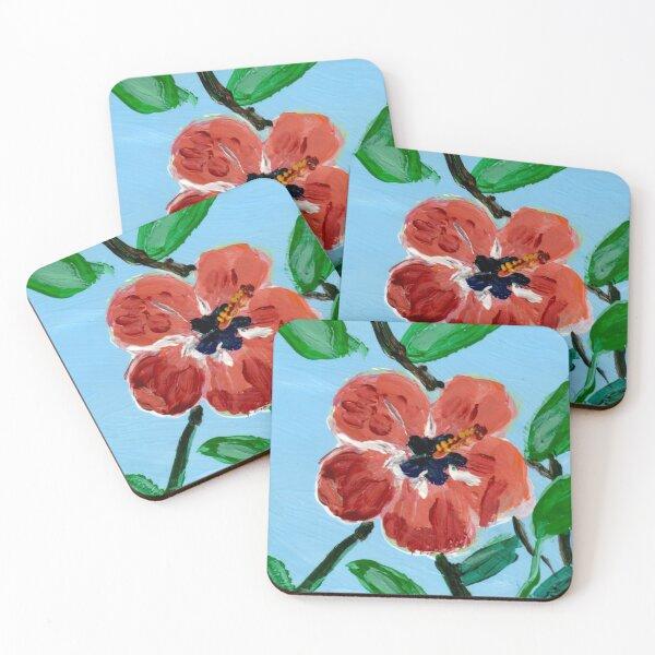 """""""Flor de Maga"""" flower Coasters (Set of 4)"""