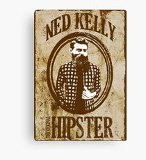 Ned Kelly the original hipster Canvas Print