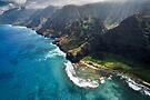 The Na Pali Coast - Kauai by Michael Treloar