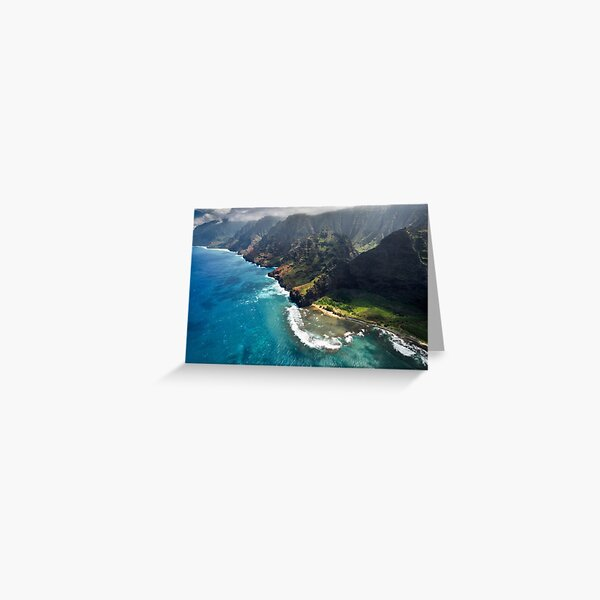 The Na Pali Coast - Kauai Greeting Card
