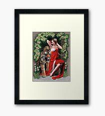 Tiger Woman Framed Print