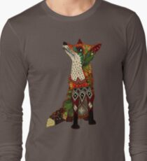 Camiseta de manga larga zorro amor