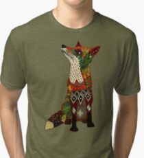 fox love Tri-blend T-Shirt