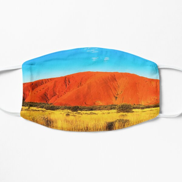 Southern Light of Uluru  Mask