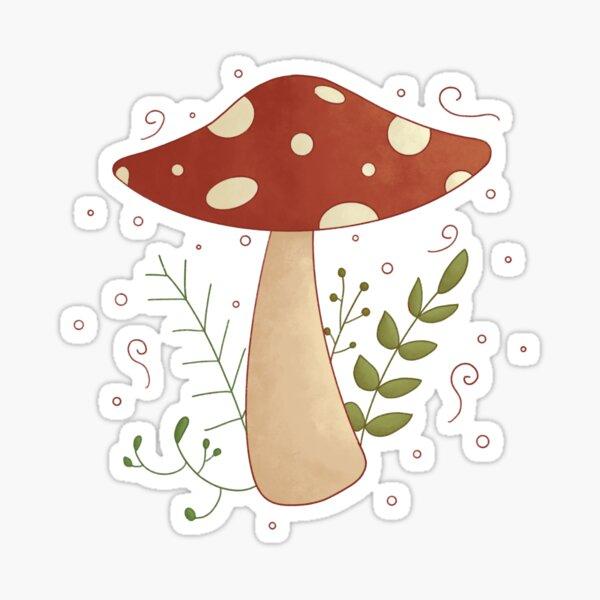 Cute Lil' Mushroom! Sticker