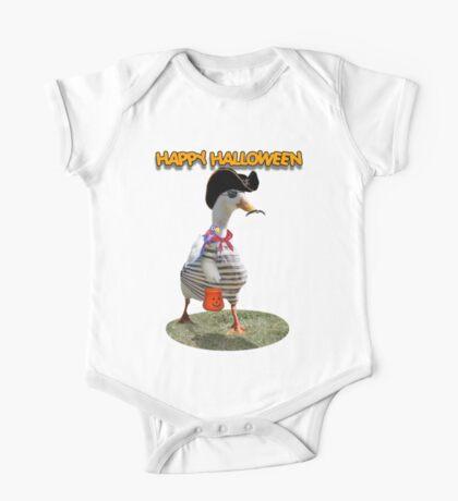 Halloween Pirate Duck  Kids Clothes