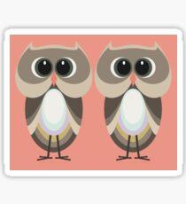OWLISH OWL TWINS Sticker