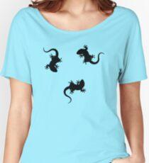 3 Lizards Geckos Women's Relaxed Fit T-Shirt