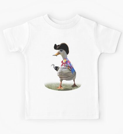 Pirate Captain Duck with Hook Hand Kids Clothes