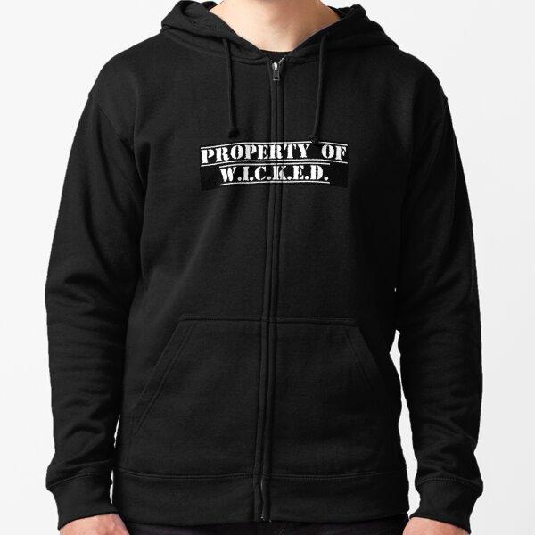 Property of W.I.C.K.E.D. Zipped Hoodie
